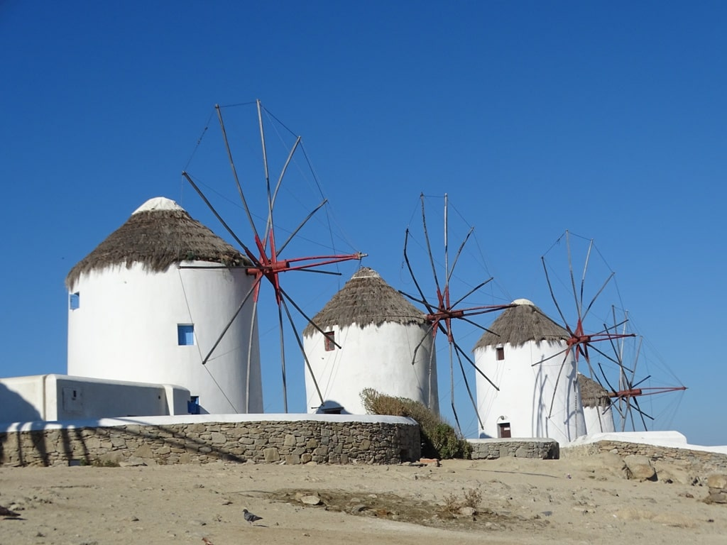 Mykonos windmills - 2 days in Mykonos