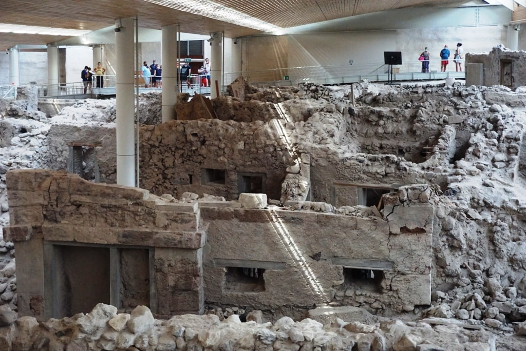 Archaeological Site of Akrotiri - 2 days in Santorini