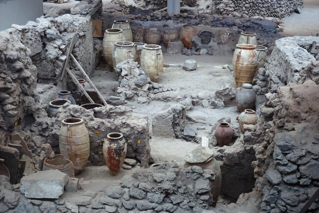Archaeological Site of Akrotiri - 2 day in Santorini itinerary