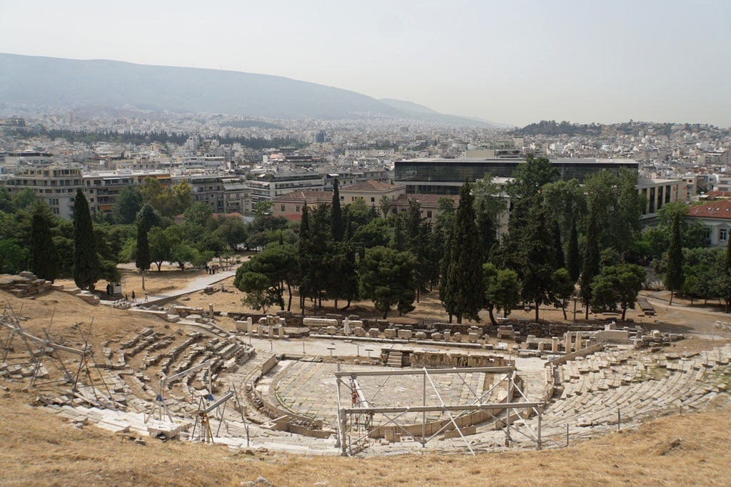 Theater of Dionysus- 2 days in Athens