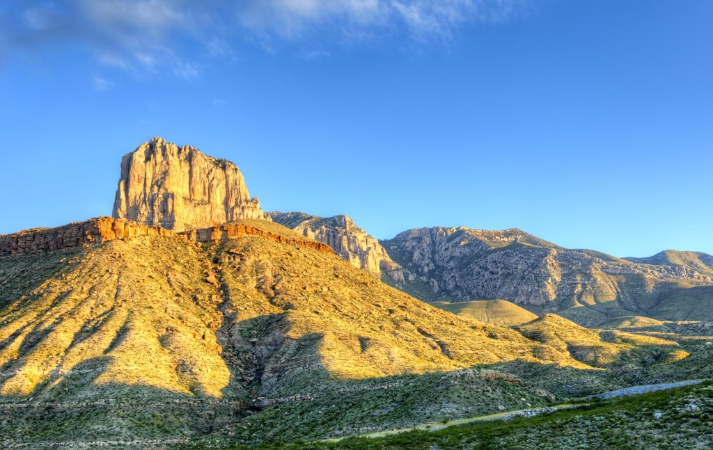 El Capitan - Guadalupe Mountains National Park Texas
