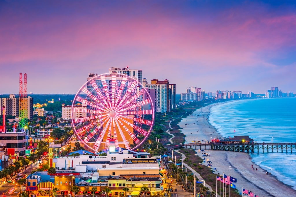Myrtle Beach, South Carolina - weekends on the East Coast