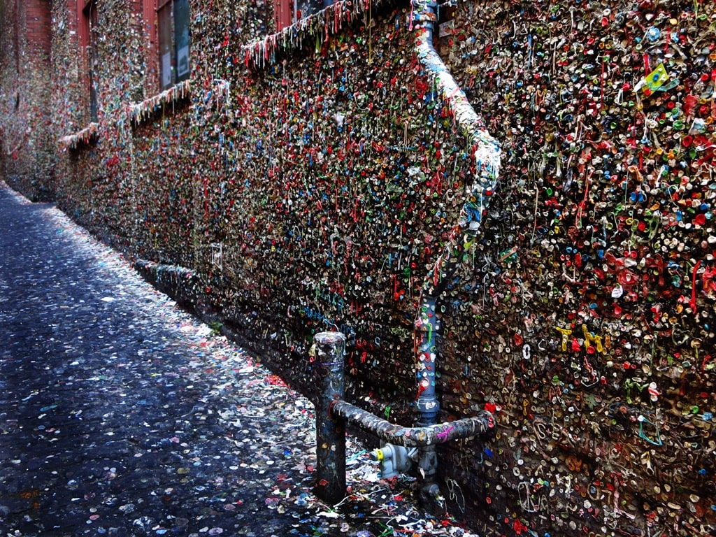 Gum Wall in Seattle itinerary