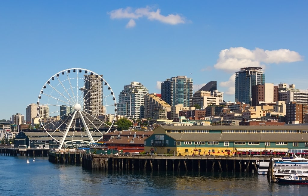 Seattle Waterfront - things to see in Seattle in 2 days