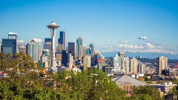 Seattle skyline from Kerry Park Viewpoint - 2 days in Seattle
