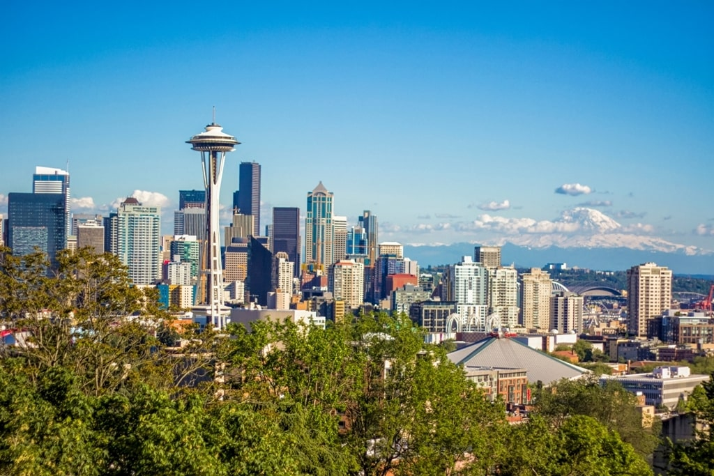 Kerry Park Viewpoint - 2 day Seattle itinerary