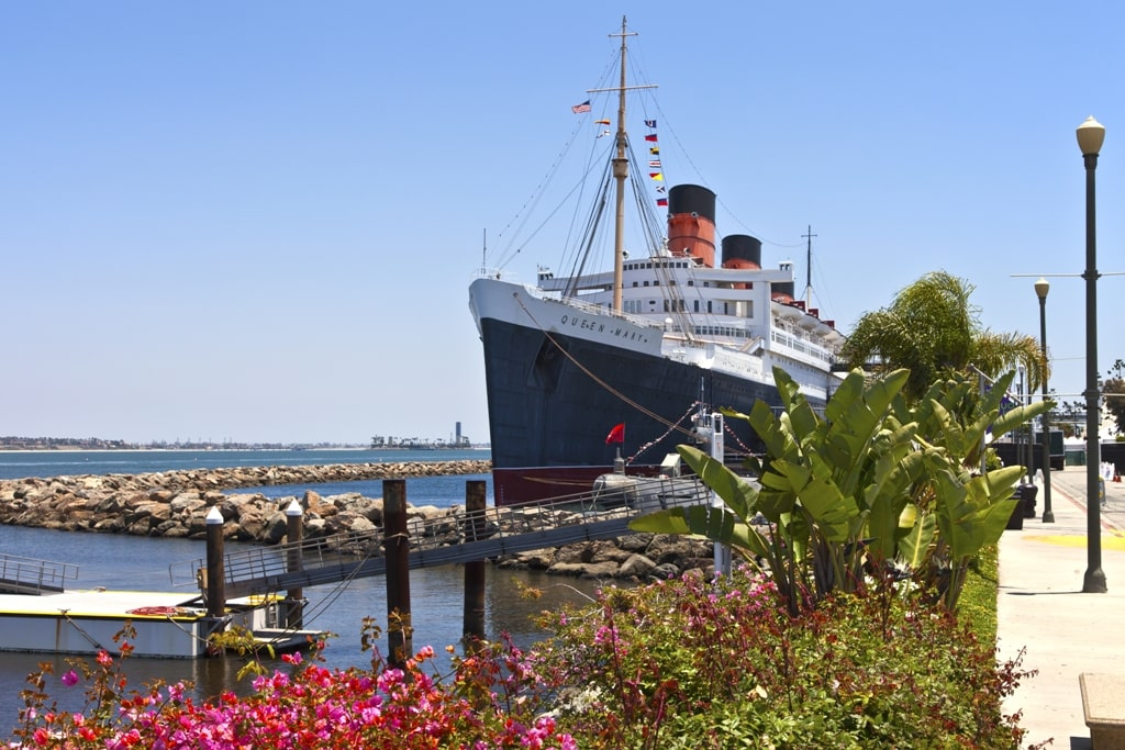 The Queen Mary in Long Beach- weekends in California