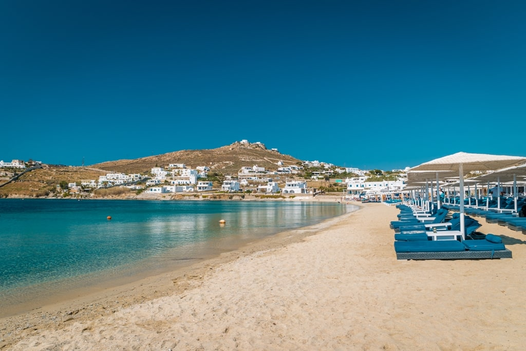 Ornos Beach - 2 days in Mykonos