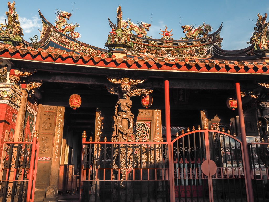 Qingshui Temple - two days in Taiwan