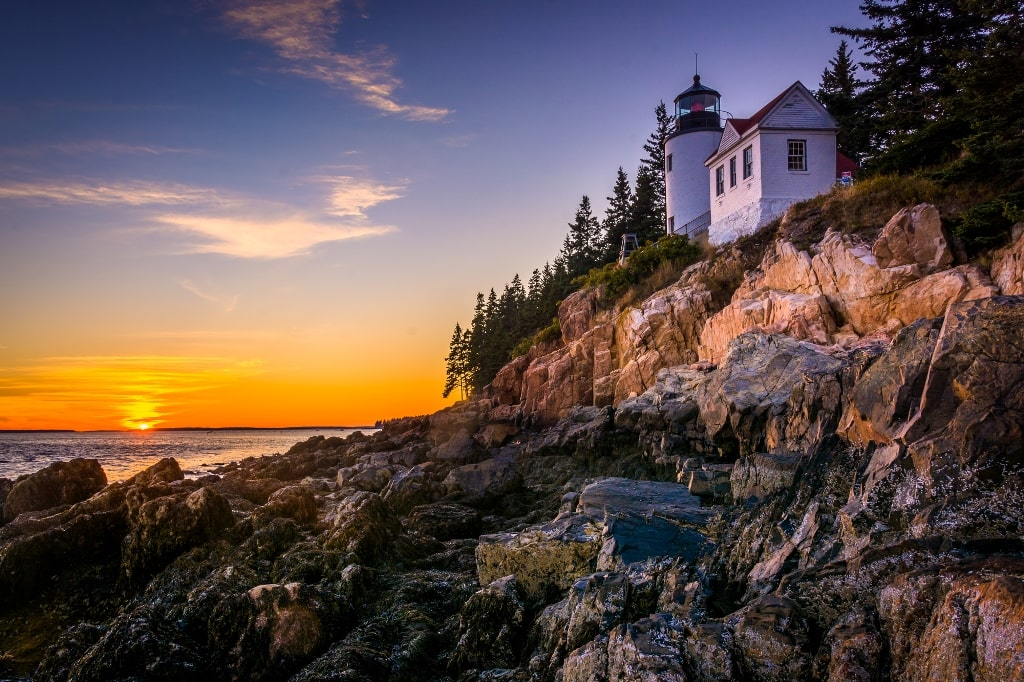 Acadia National Park - weekend trips in New England
