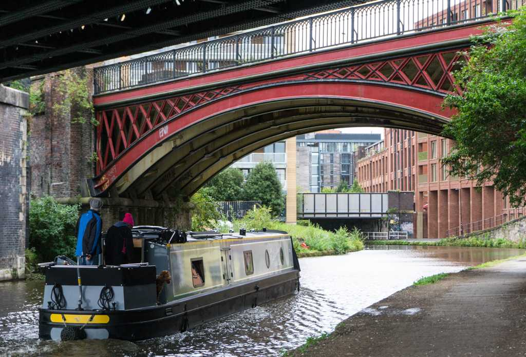 Castlefield Canals - Manchester itinerary