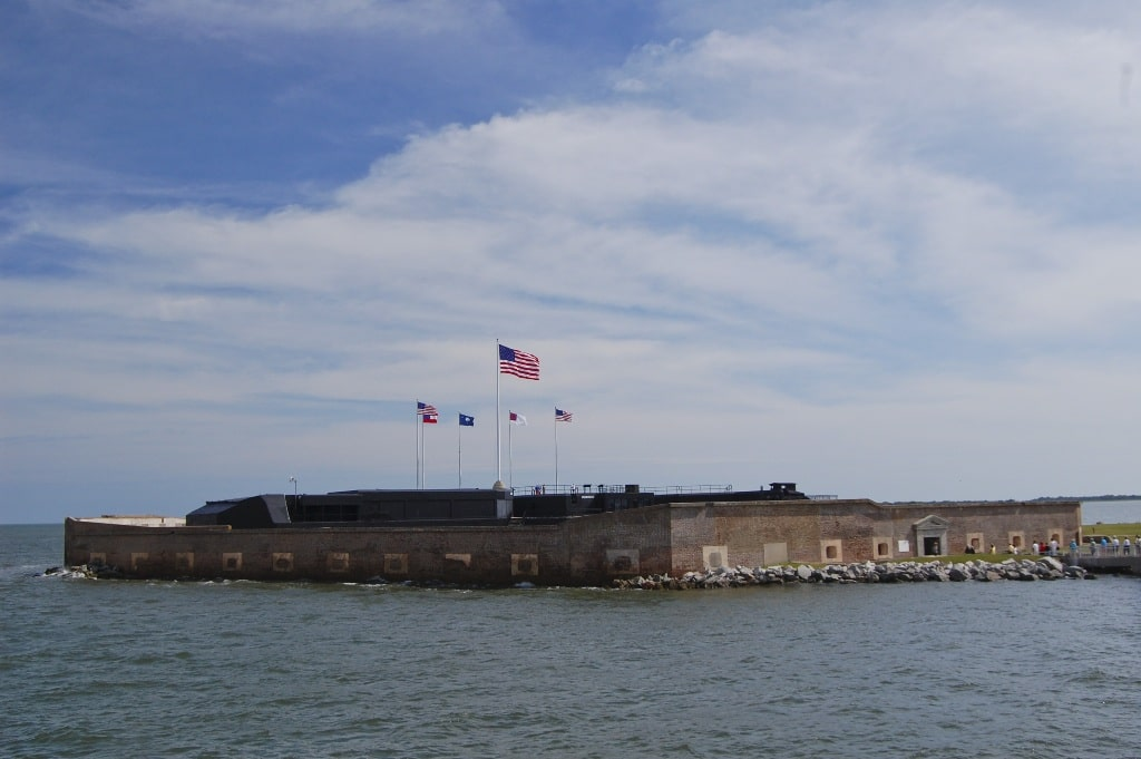 Fort Sumpter - 2 days in Charleston itinerary