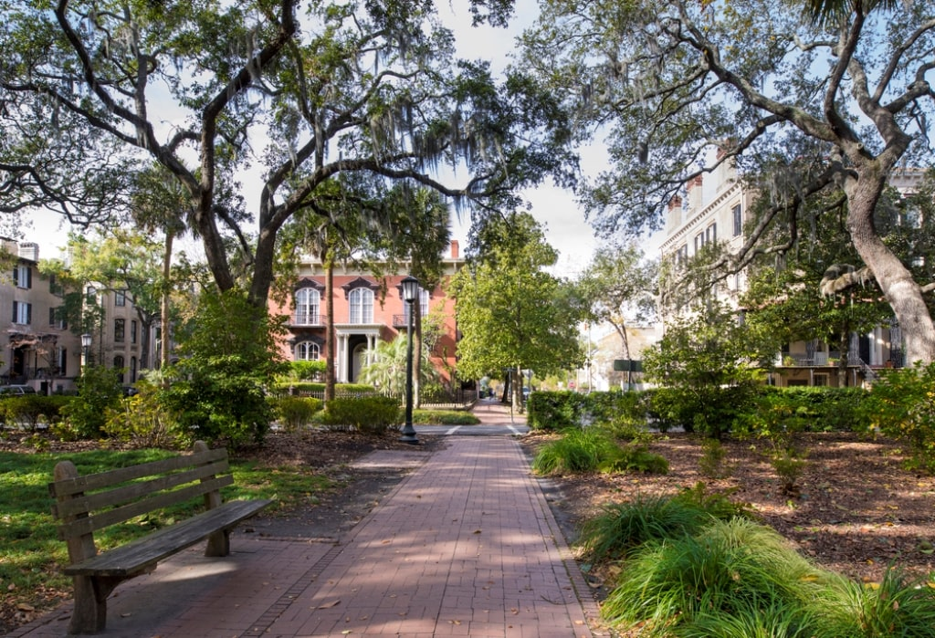 Historic District Savannah GA