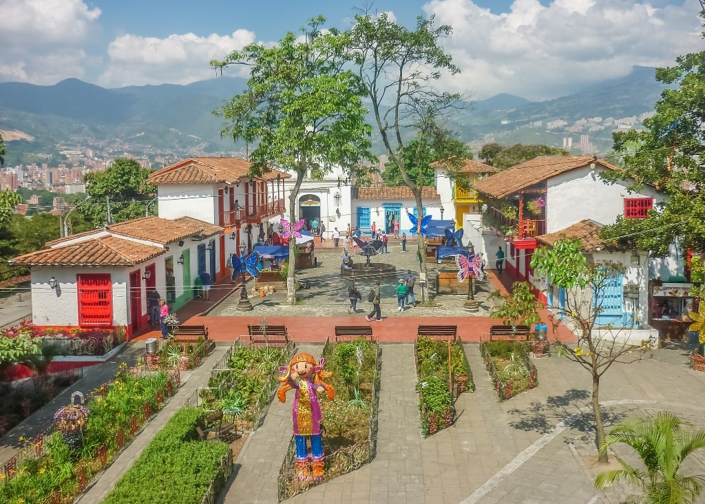 Pueblito Paisa Medellin in 2 days itinerary