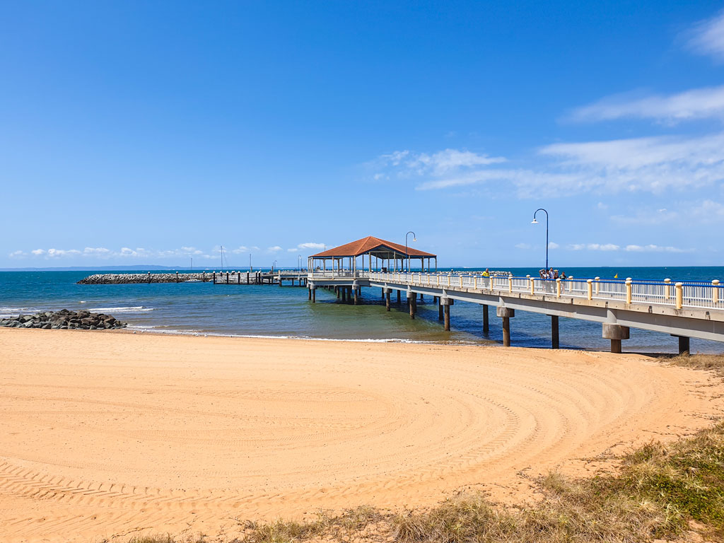Redcliffe Pier - 2 days in Brisbane itinerary