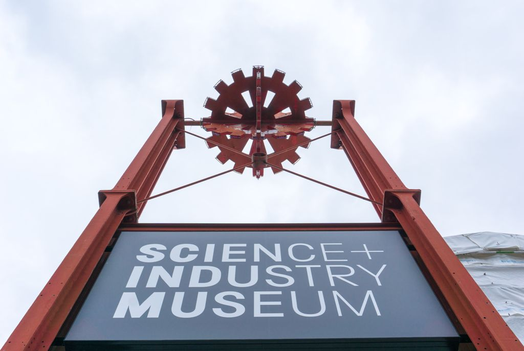 Science Industry Museum in Manchester