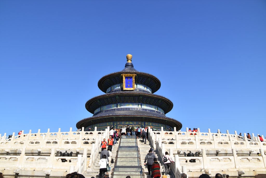 temple of heaven - 2 day Beijing itinerary