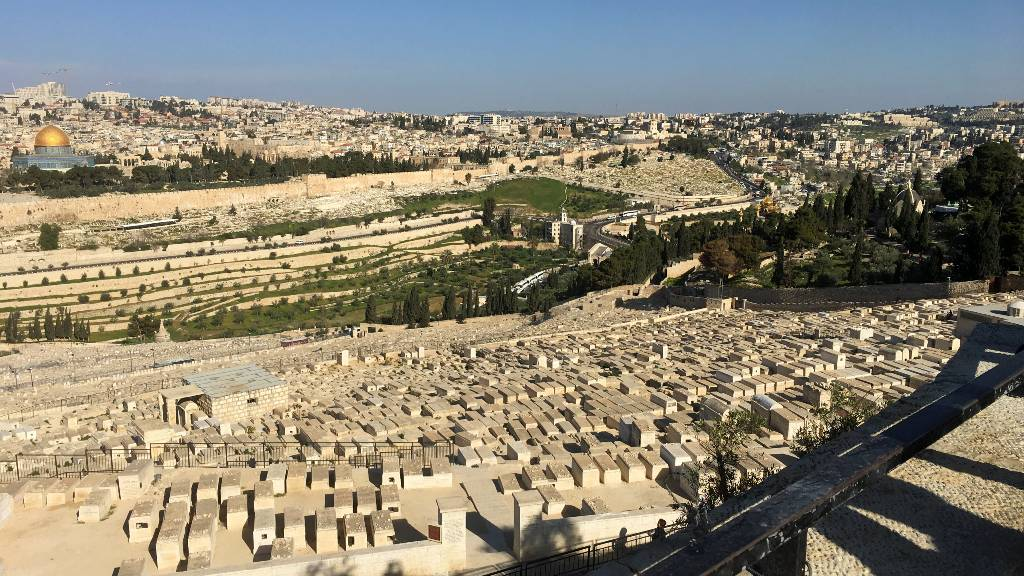 View from the Mount of Olives - 2 days in Jerusalem