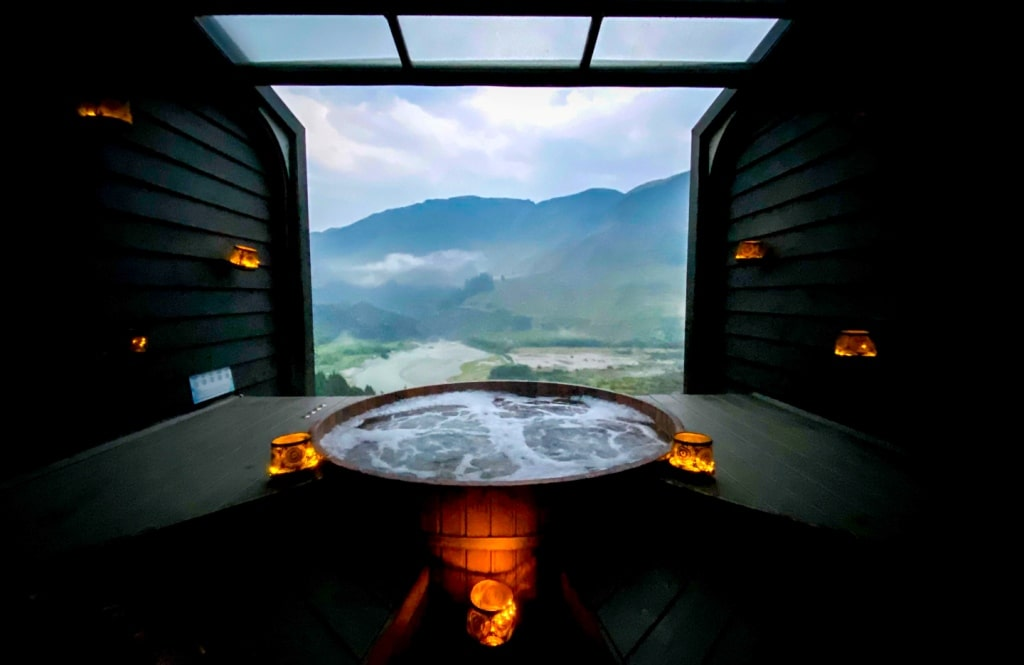 Onsen hot pools Queenstown itinerary