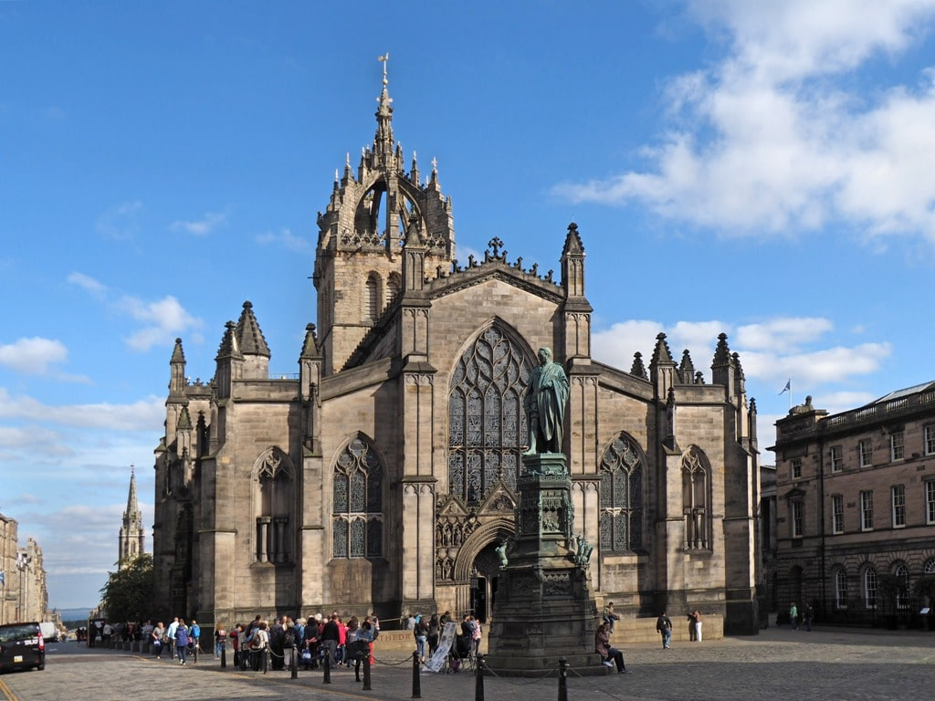 St. Giles Cathedral  - two days in Edinburgh itinerary