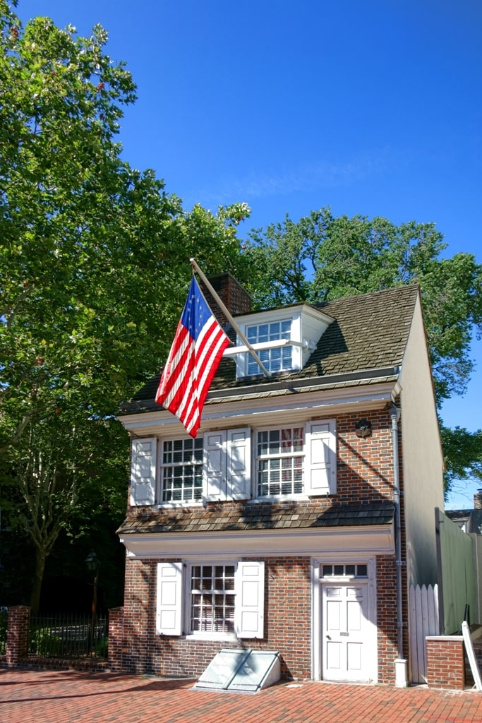 Betsy Ross House - two days in Philly